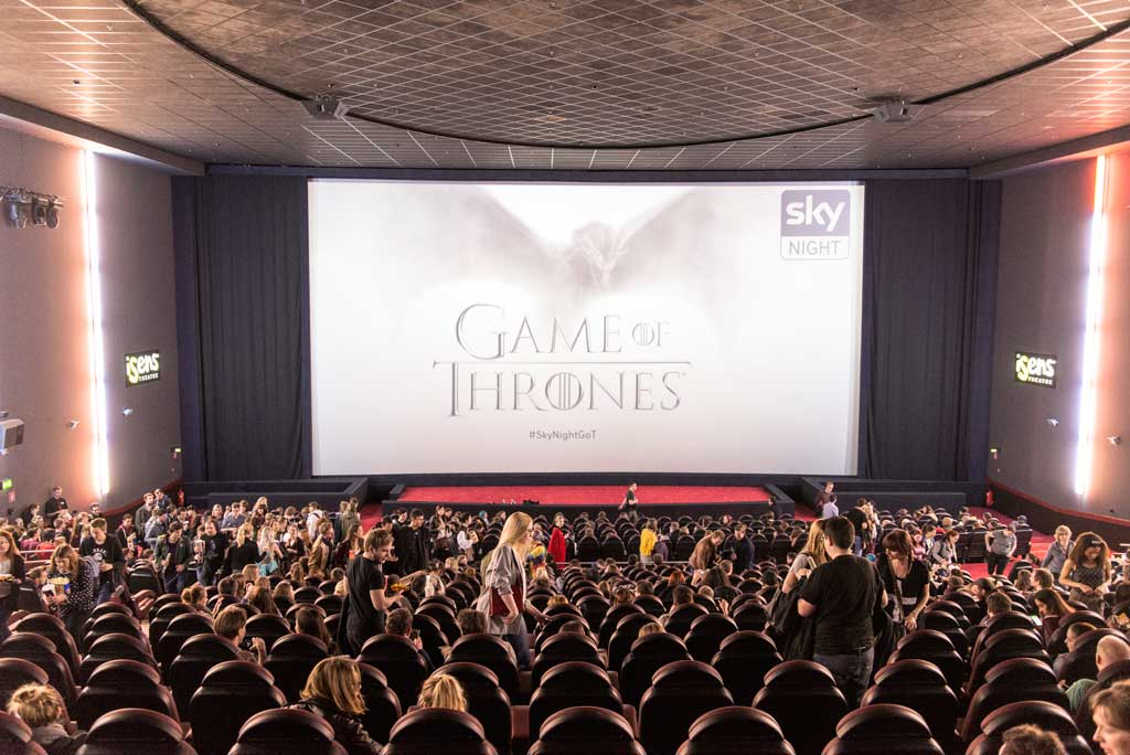 "Einladung zur Sky Night ""Game of Thrones"""