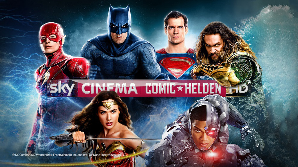 Neuer Sender: Sky Cinema Comic-Helden HD ab 24. September 2018