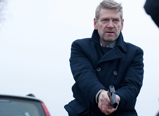 Kommissar Kurt Wallander (Kenneth Branagh) im Einsatz. Bild: Sender / Yellow Bird / Left Bank Pictures